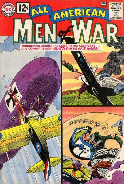 All-American Men of War #89 Comic Books - Covers, Scans, Photos  in All-American Men of War Comic Books - Covers, Scans, Gallery
