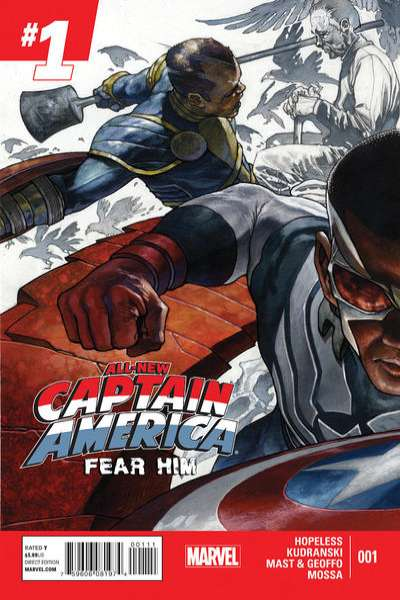 All-New Captain America: Fear Him # comic book complete sets All-New Captain America: Fear Him # comic books