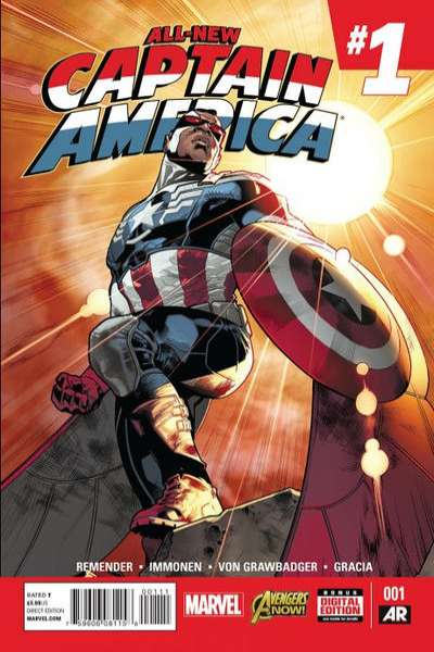 All-New Captain America Comic Books. All-New Captain America Comics.