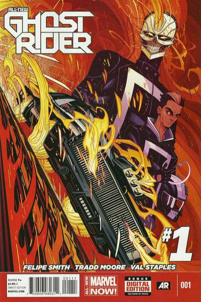 All-New Ghost Rider #1 Comic Books - Covers, Scans, Photos  in All-New Ghost Rider Comic Books - Covers, Scans, Gallery