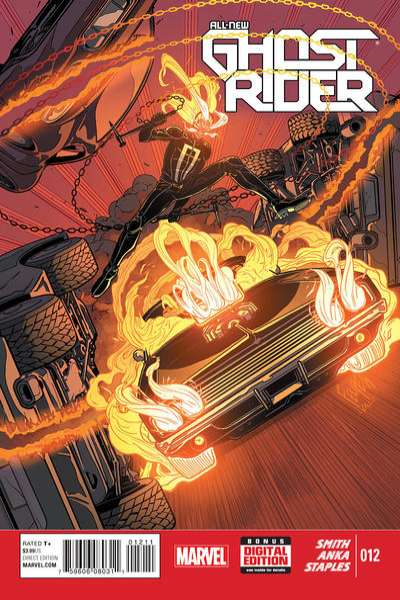 All-New Ghost Rider #12 comic books for sale