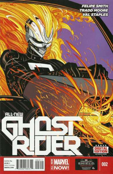 All-New Ghost Rider #2 Comic Books - Covers, Scans, Photos  in All-New Ghost Rider Comic Books - Covers, Scans, Gallery