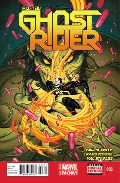 All-New Ghost Rider #3 Comic Books - Covers, Scans, Photos  in All-New Ghost Rider Comic Books - Covers, Scans, Gallery