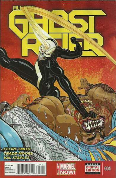 All-New Ghost Rider #4 comic books for sale