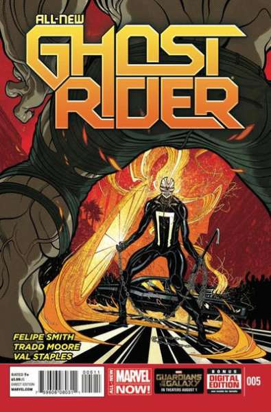 All-New Ghost Rider #5 Comic Books - Covers, Scans, Photos  in All-New Ghost Rider Comic Books - Covers, Scans, Gallery