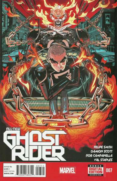 All-New Ghost Rider #7 Comic Books - Covers, Scans, Photos  in All-New Ghost Rider Comic Books - Covers, Scans, Gallery