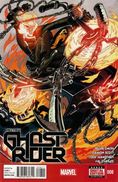 All-New Ghost Rider #8 comic books for sale