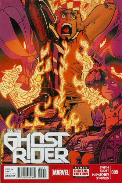 All-New Ghost Rider #9 comic books for sale