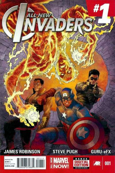 All-New Invaders comic books