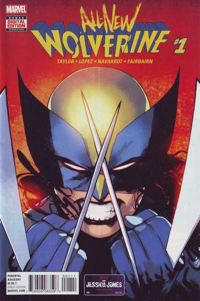 All-New Wolverine Comic Books. All-New Wolverine Comics.