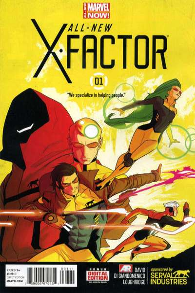 All-New X-Factor comic books