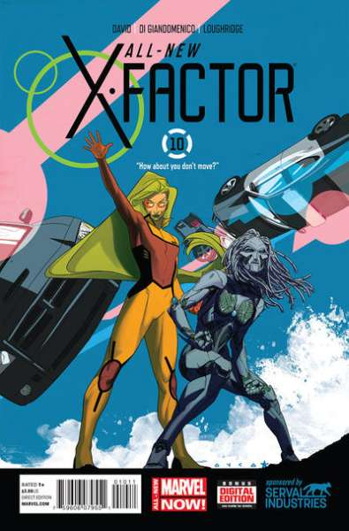 All-New X-Factor #10 comic books for sale