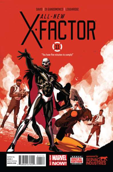 All-New X-Factor #11 comic books for sale