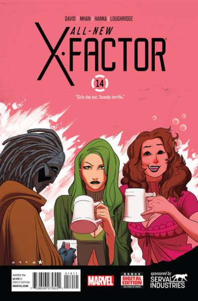All-New X-Factor #14 comic books for sale