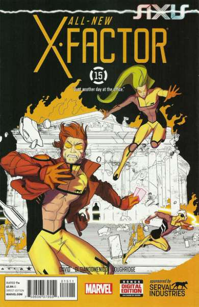 All-New X-Factor #15 comic books for sale