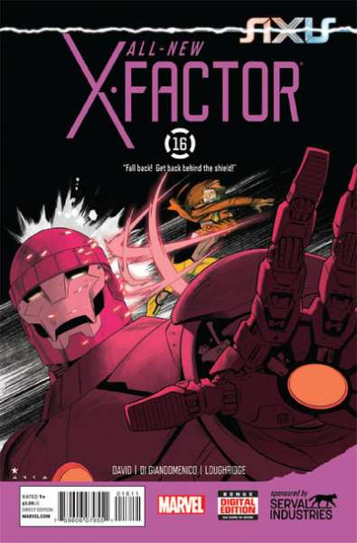 All-New X-Factor #16 comic books for sale