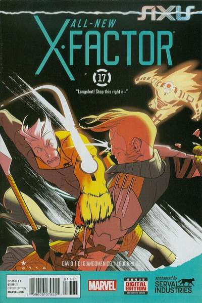 All-New X-Factor #17 comic books for sale