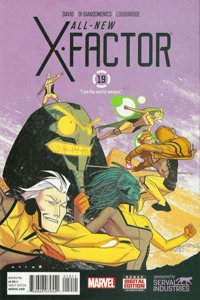 All-New X-Factor #19 comic books for sale
