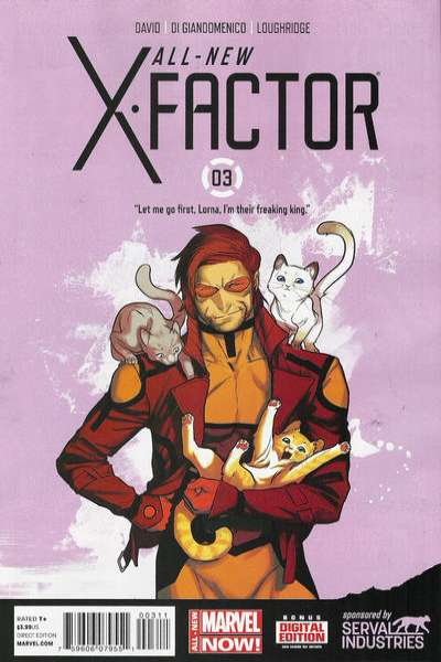 All-New X-Factor #3 comic books for sale