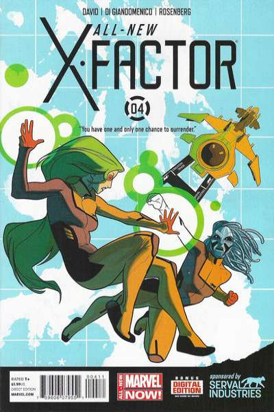 All-New X-Factor #4 comic books for sale