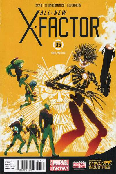 All-New X-Factor #5 comic books for sale
