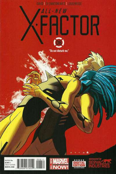 All-New X-Factor #6 comic books for sale