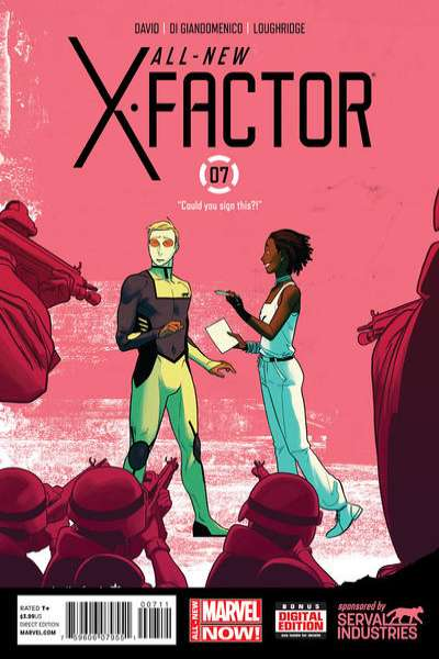 All-New X-Factor #7 comic books - cover scans photos All-New X-Factor #7 comic books - covers, picture gallery