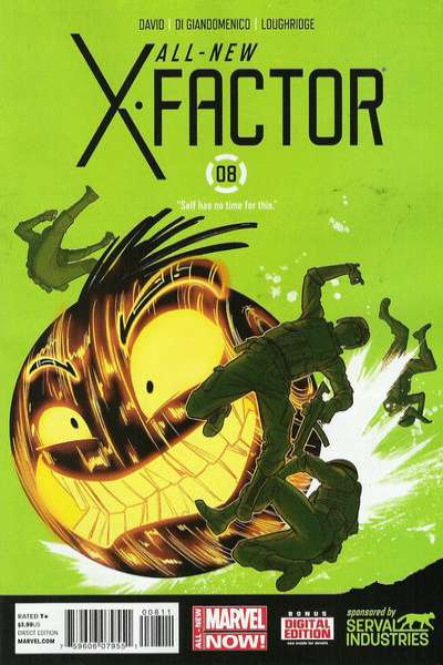 All-New X-Factor #8 comic books - cover scans photos All-New X-Factor #8 comic books - covers, picture gallery