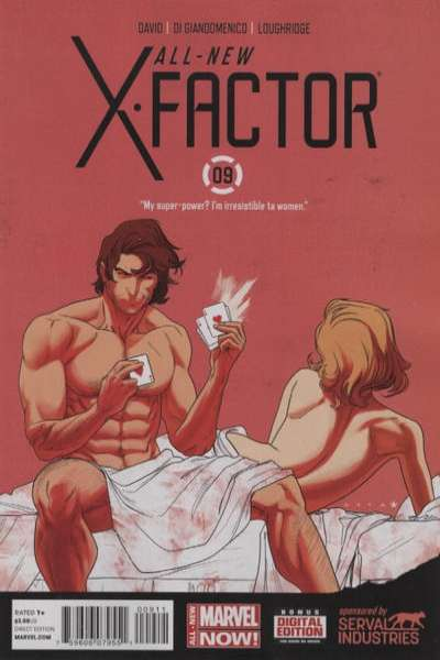All-New X-Factor #9 comic books for sale