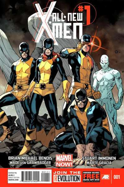 All-New X-Men #1 Comic Books - Covers, Scans, Photos  in All-New X-Men Comic Books - Covers, Scans, Gallery