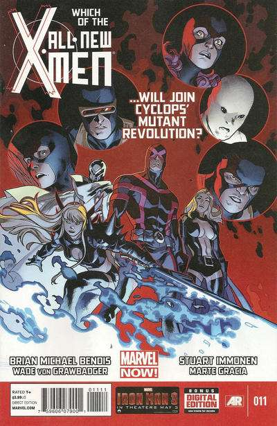 All-New X-Men #11 Comic Books - Covers, Scans, Photos  in All-New X-Men Comic Books - Covers, Scans, Gallery