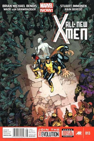 All-New X-Men #13 Comic Books - Covers, Scans, Photos  in All-New X-Men Comic Books - Covers, Scans, Gallery