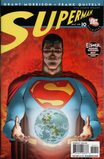 All-Star Superman #10 comic books - cover scans photos All-Star Superman #10 comic books - covers, picture gallery