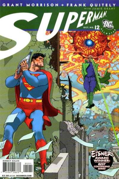All-Star Superman #12 Comic Books - Covers, Scans, Photos  in All-Star Superman Comic Books - Covers, Scans, Gallery
