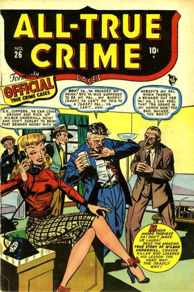 All-True Crime Cases Comics Comic Books. All-True Crime Cases Comics Comics.