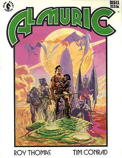 Almuric comic books
