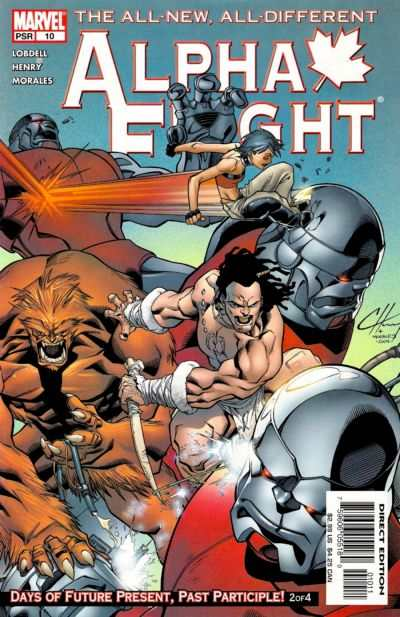 Alpha Flight #10 Comic Books - Covers, Scans, Photos  in Alpha Flight Comic Books - Covers, Scans, Gallery
