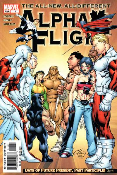 Alpha Flight #11 Comic Books - Covers, Scans, Photos  in Alpha Flight Comic Books - Covers, Scans, Gallery