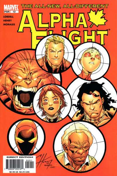 Alpha Flight #12 Comic Books - Covers, Scans, Photos  in Alpha Flight Comic Books - Covers, Scans, Gallery