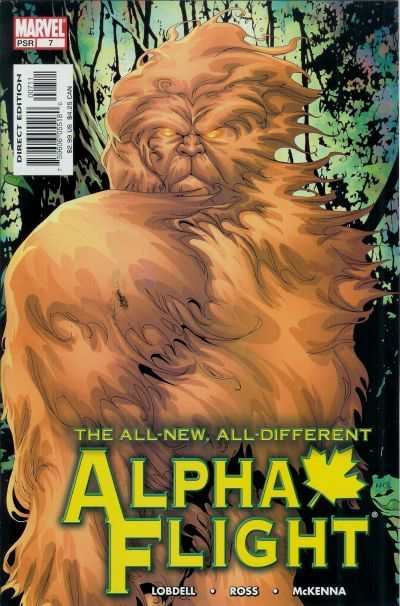 Alpha Flight #7 comic books - cover scans photos Alpha Flight #7 comic books - covers, picture gallery
