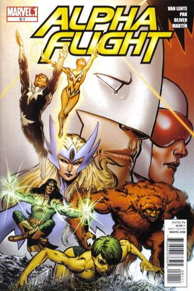 Alpha Flight #0 comic books for sale