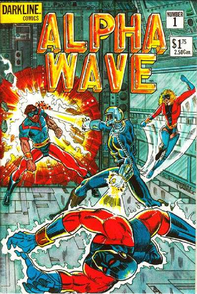 Alpha Wave #1 comic books for sale