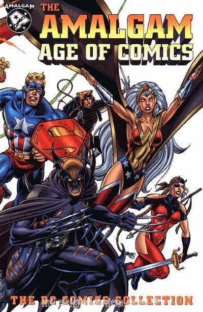 Amalgam Age of Comics: The DC Comics Collection comic books