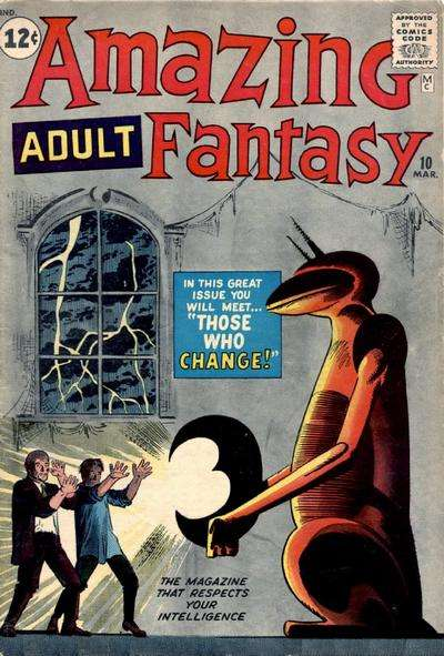 Amazing Adult Fantasy #10 comic books - cover scans photos Amazing Adult Fantasy #10 comic books - covers, picture gallery