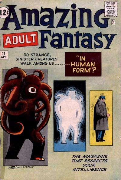 Amazing Adult Fantasy #11 Comic Books - Covers, Scans, Photos  in Amazing Adult Fantasy Comic Books - Covers, Scans, Gallery