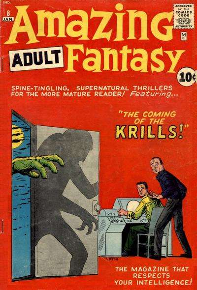 Amazing Adult Fantasy #8 comic books - cover scans photos Amazing Adult Fantasy #8 comic books - covers, picture gallery