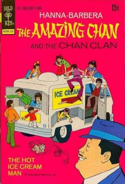 Amazing Chan and the Chan Clan comic books