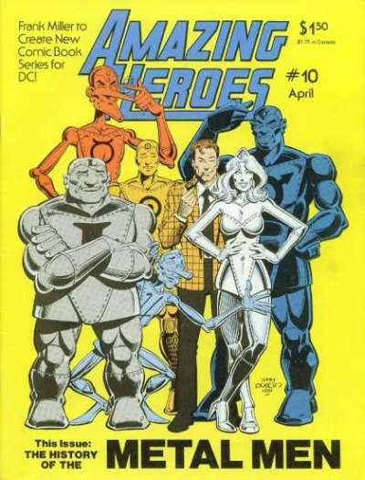 Amazing Heroes #10 Comic Books - Covers, Scans, Photos  in Amazing Heroes Comic Books - Covers, Scans, Gallery