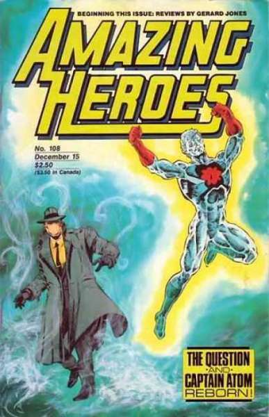 Amazing Heroes #108 comic books - cover scans photos Amazing Heroes #108 comic books - covers, picture gallery