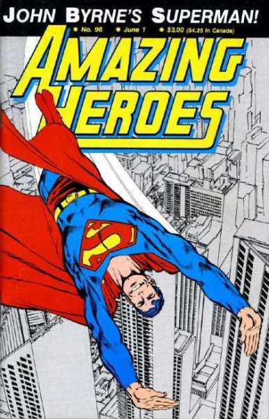 Amazing Heroes #96 comic books for sale